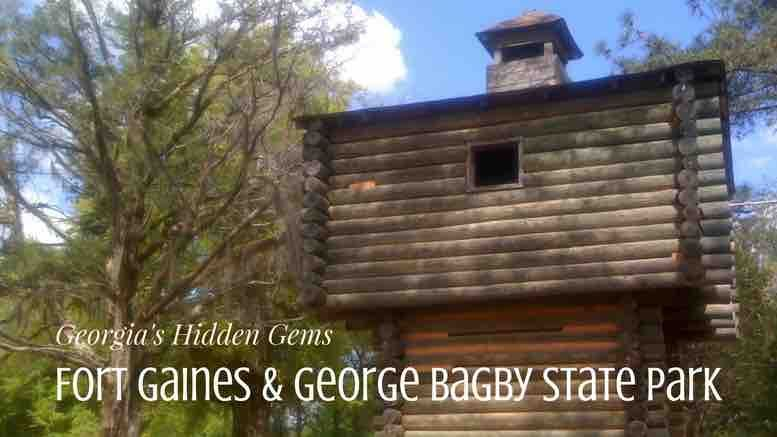 Fort Gaines Ga Hidden Gems Like George T Bagby State Park